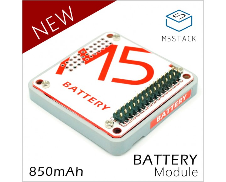 M5Stack BATTERY 850 module